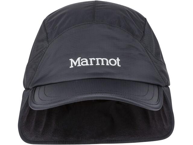 Marmot PreCip Plus Cappellino da baseball isolante, nero